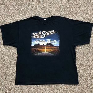Bob Seger t-shirt 3XL rock band tour concert tee